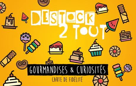 Carte fidélité Destock 2 Tout