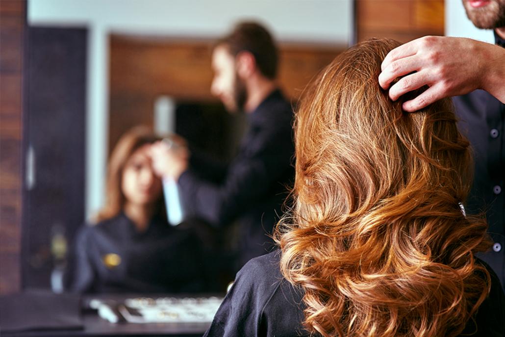 Domaine d'expertise Salon de coiffure
